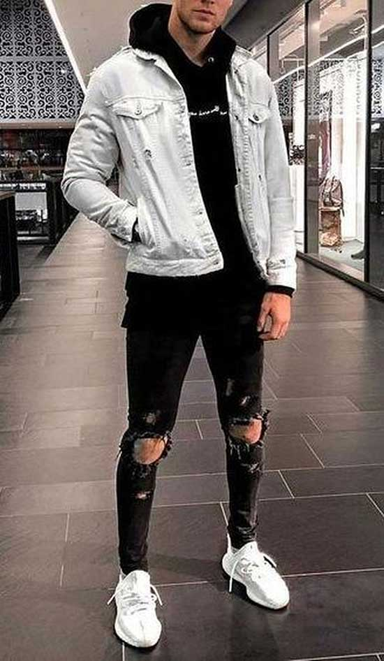 Cool Black Pants Outfits Mens