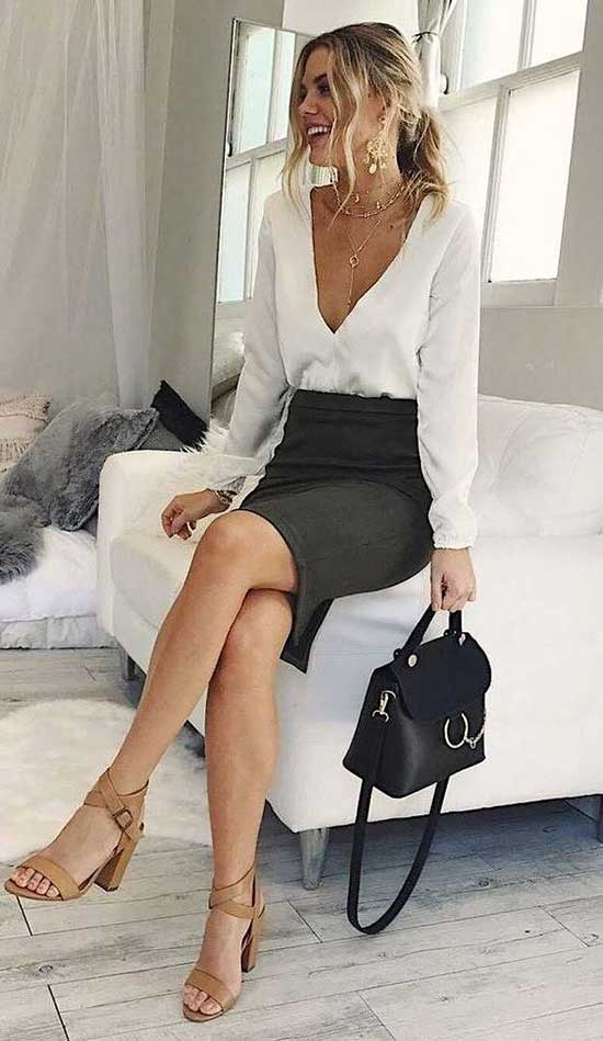 Summer Professional Blouse Outfits