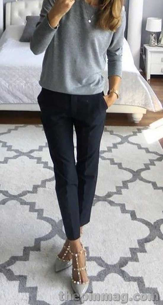 Simple Business Outfits for Ladies