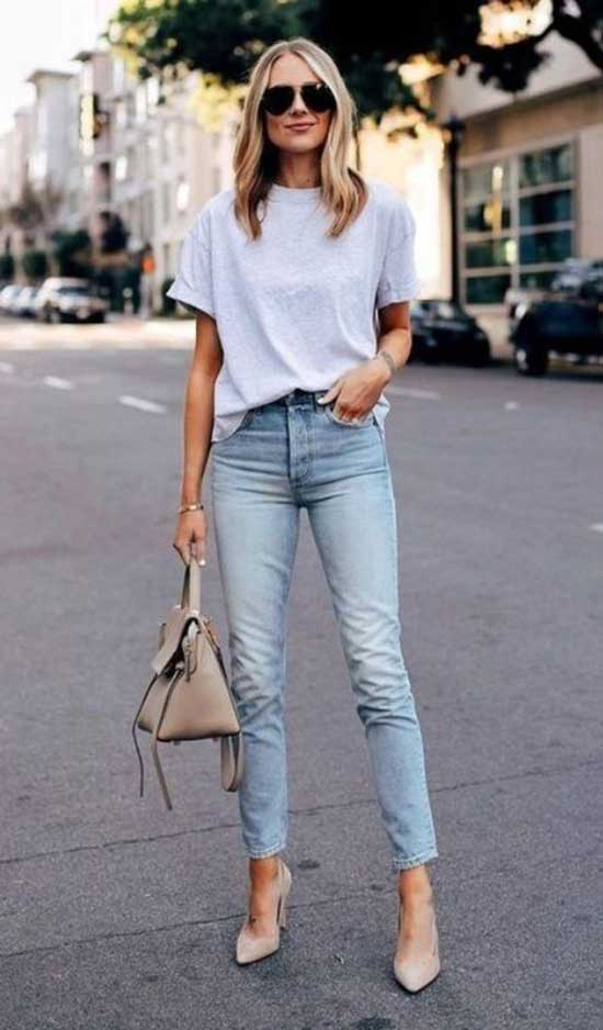 Simple Denim Outfits for Ladies