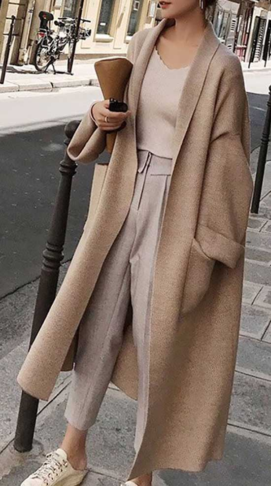 Simple Oversized Outfits for Ladies