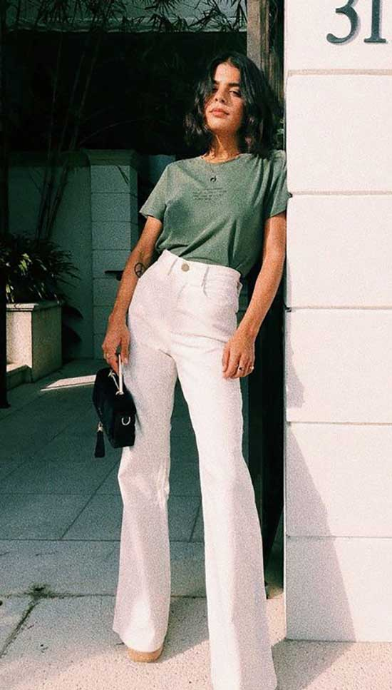 Simple Pants Outfits for Ladies