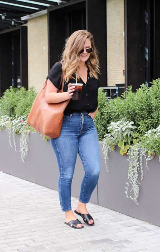 Simple Summer Outfits for Curvy Women