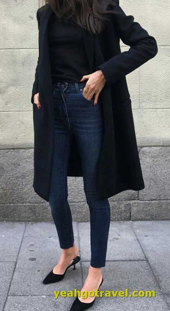 Simple Winter Outfits for Ladies