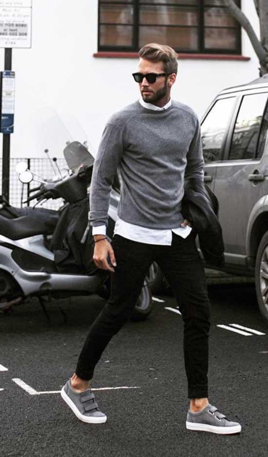 Smart Black Pants Outfits Mens