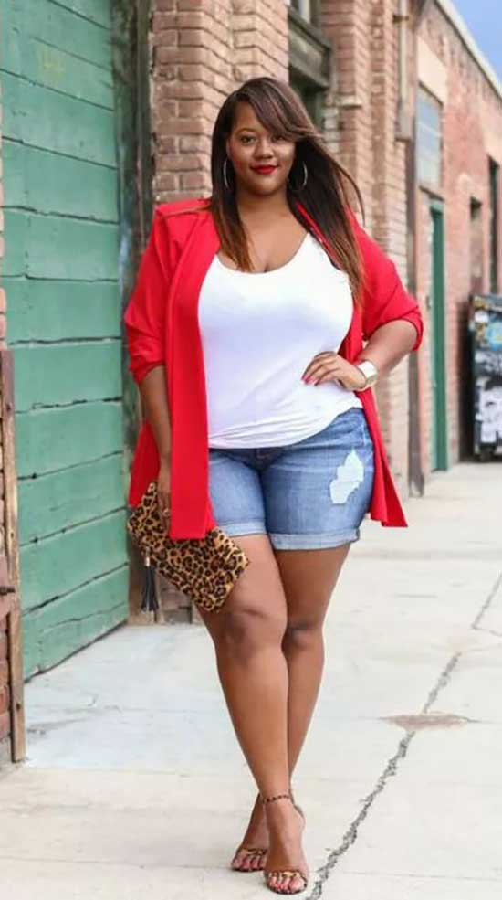 Stylish Summer Outfits for Curvy Women