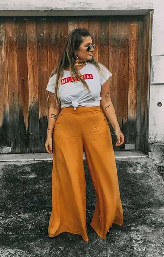Summer Outfits for Chubby Ladies