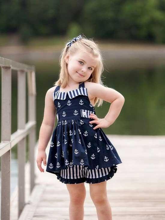 Cute Little Girl Summer Dress Outfits-10