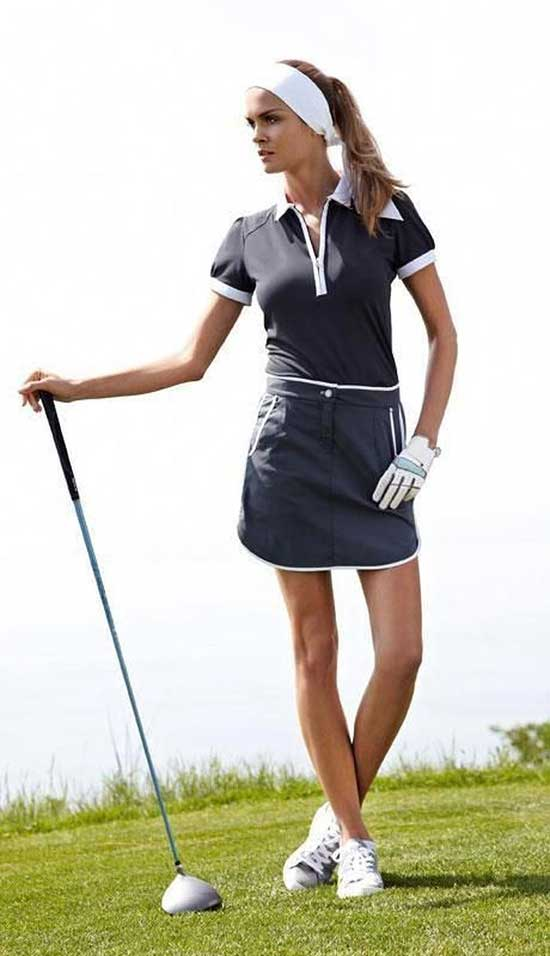 Cute Designer Golf Outfits for Ladies-11