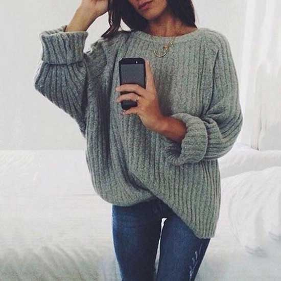 Casual Fall Sweater Outfits-12
