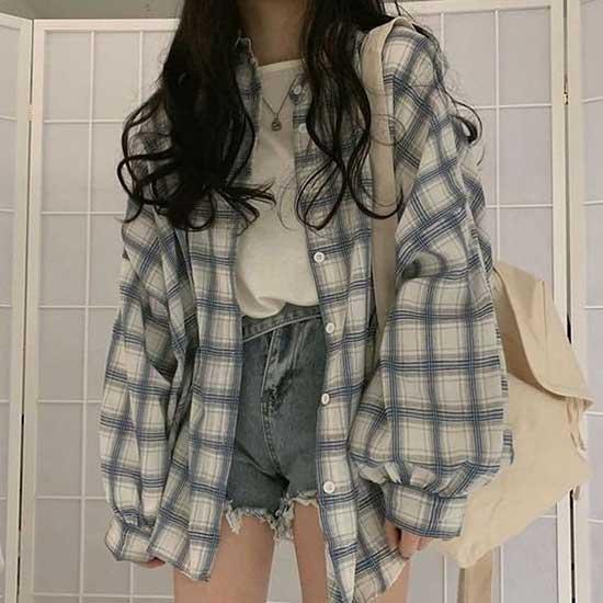 90s Korean Outfit Ideas-13