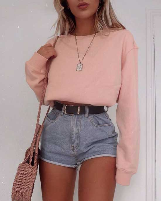 Casual Summer Outfits for School-13