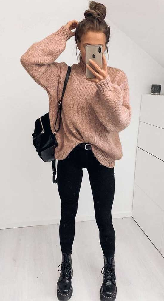 Cute Casual Fall Outfits-14