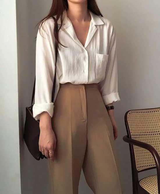 Classy Korean Outfit Ideas-15