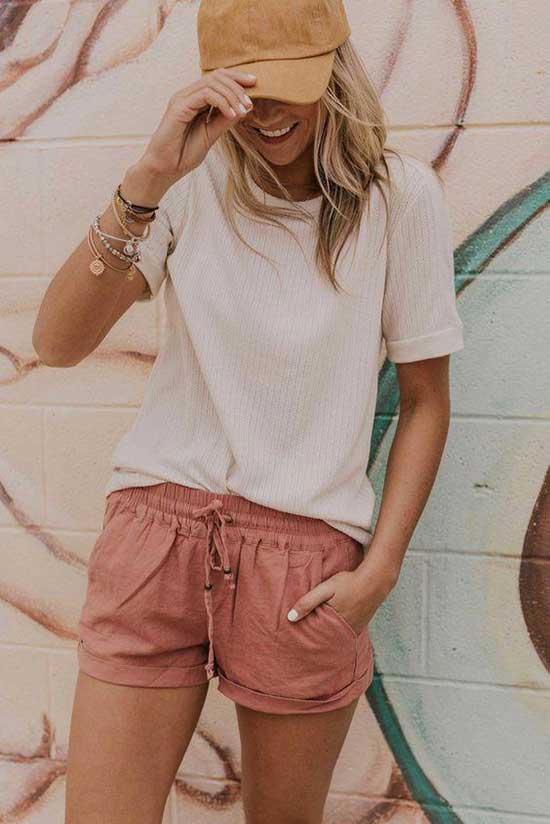 Cute Casual Summer Beach Outfits-15