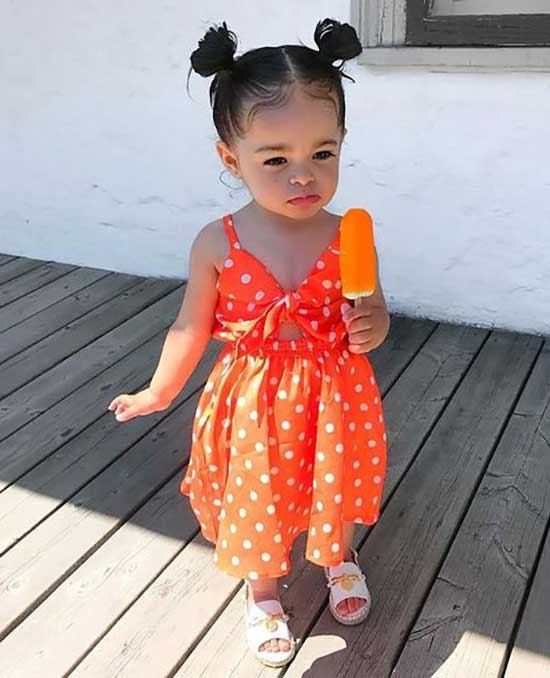 Easy Cute Little Girl Summer Outfits-15