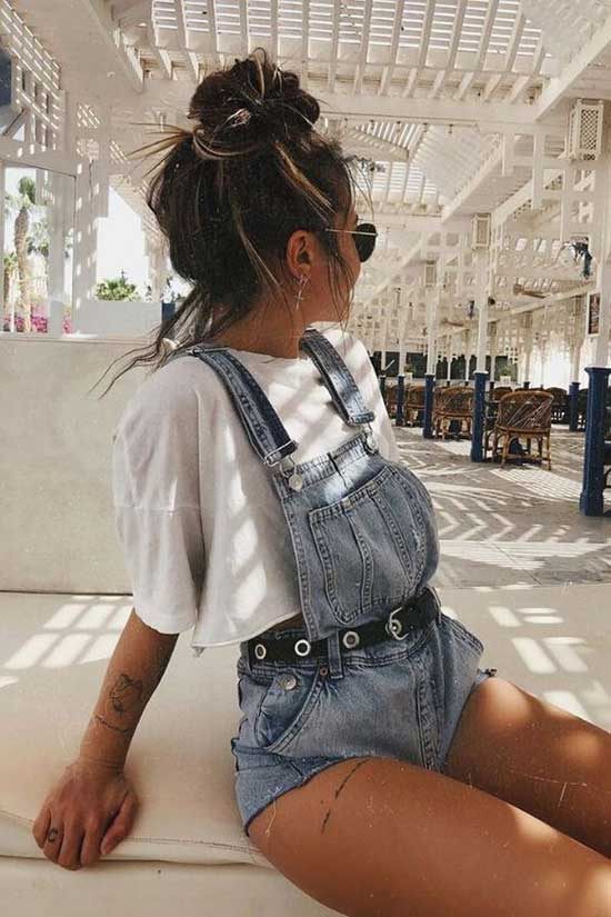 Summer Vintage Outfits for School-16