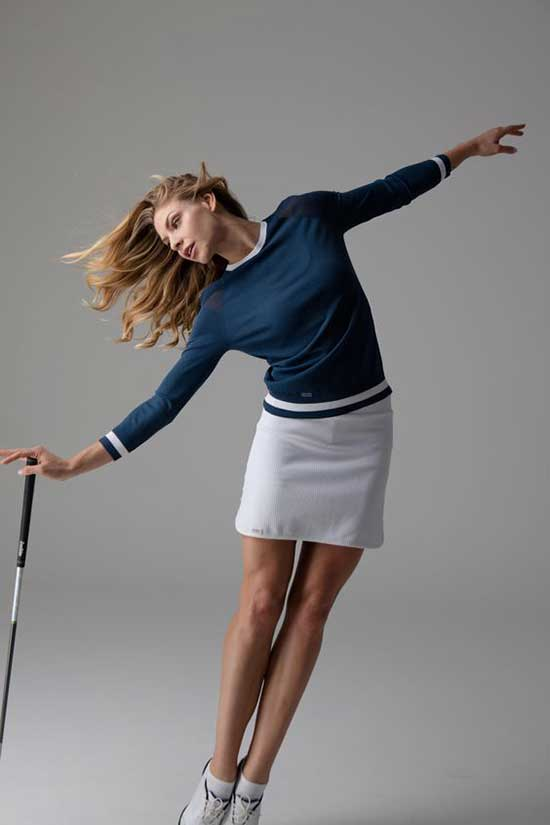 Stylish Cute Golf Outfits for Ladies-17