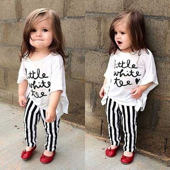 Adorable Cute Little Girl Summer Outfits-18