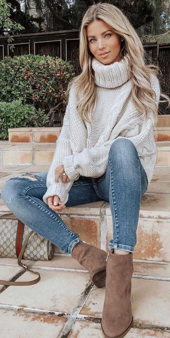 Elegant Casual Fall Outfits-18