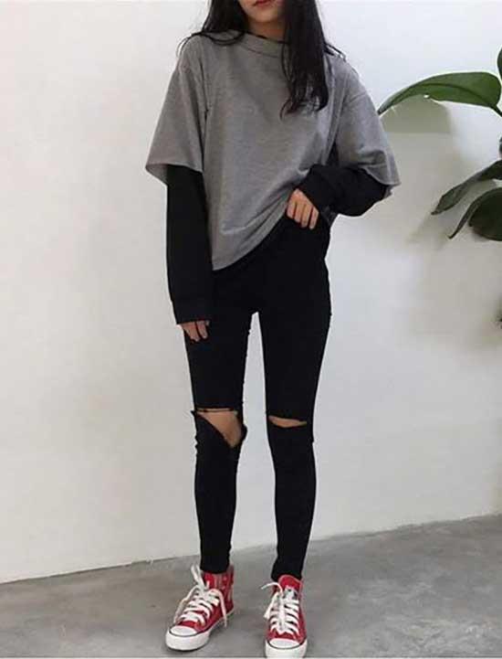 Korean Outfit Ideas for Teen Girls-18