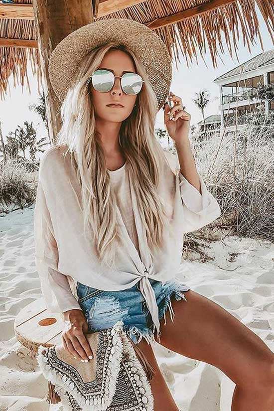 Cute Casual Summer Oversized Outfits-19