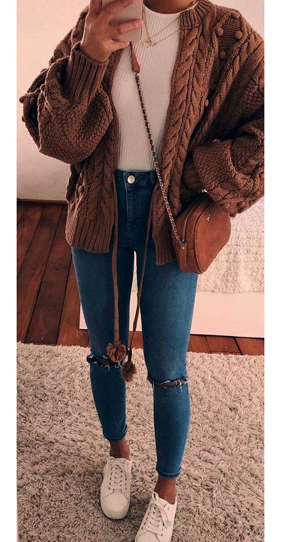 Modern Casual Fall Outfits-19