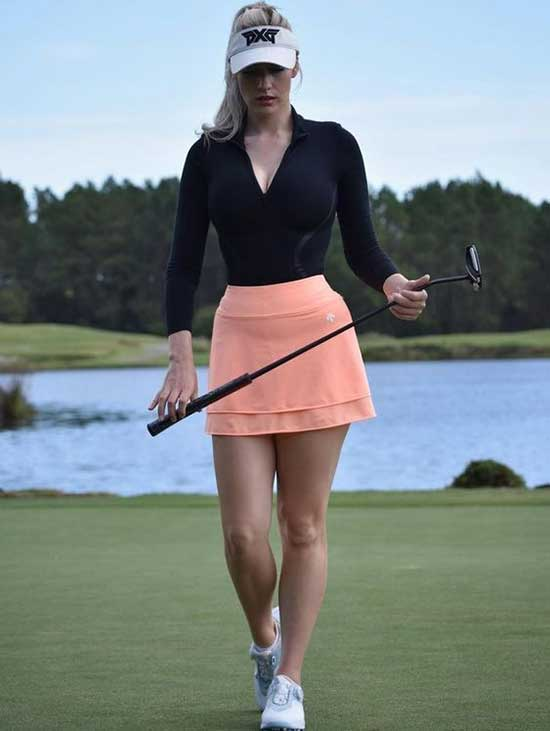 Paige Spiranac Cute Golf Outfits for Ladies-20