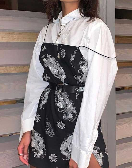 Korean Dress Outfit Ideas-21