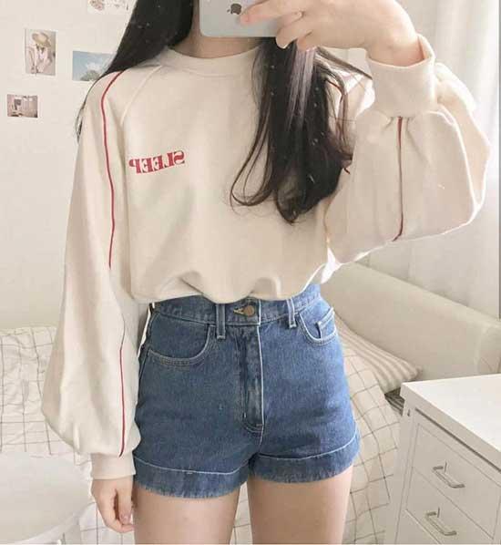 Korean Denim Outfit Ideas-22