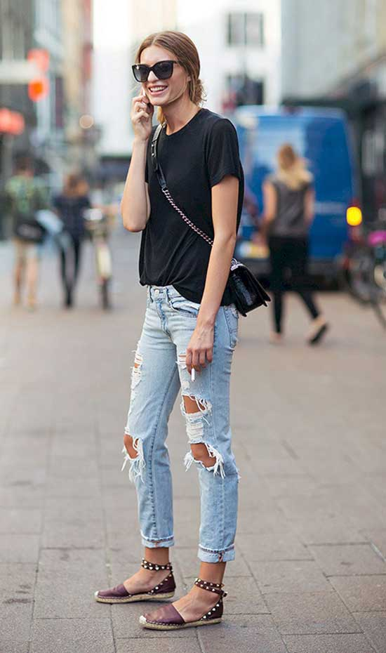 Cute Casual Summer Street Style Outfits-24
