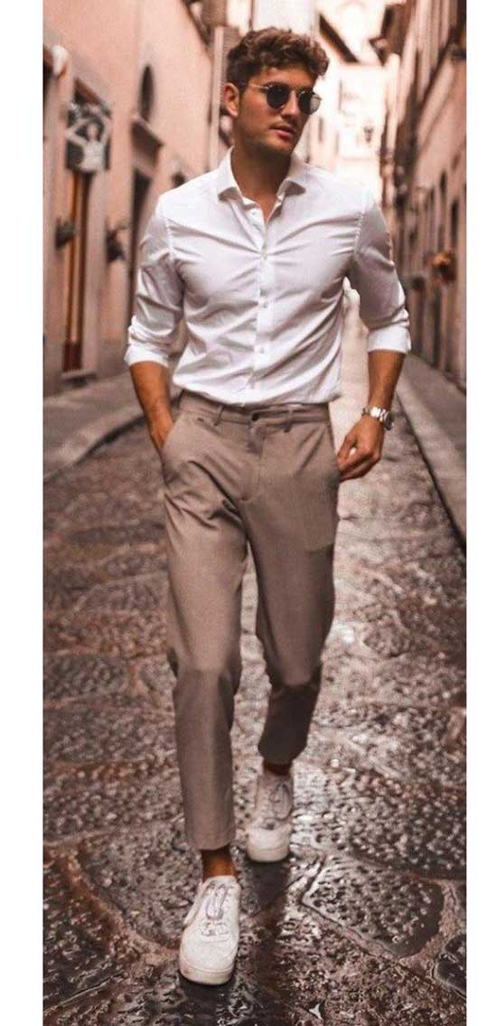 Date Night Outfits for Men-27