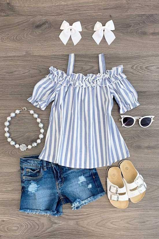 Cute Little Girl Summer Outfits-28