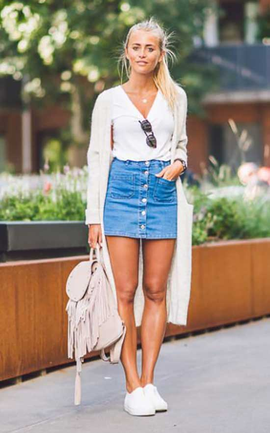 Cute Casual Summer Jean Outfits-39