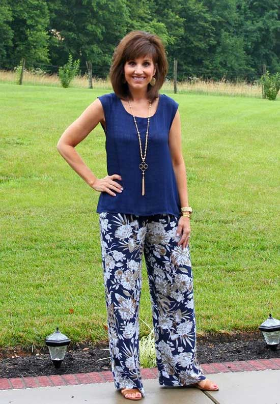 Summer Outfits for Women Over 50-47