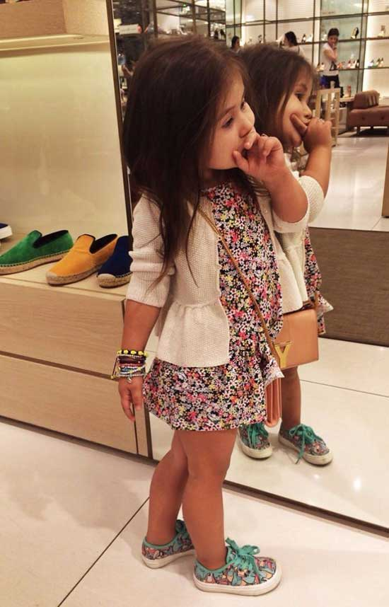Cute Little Girl Summer Sneakers Outfits-6
