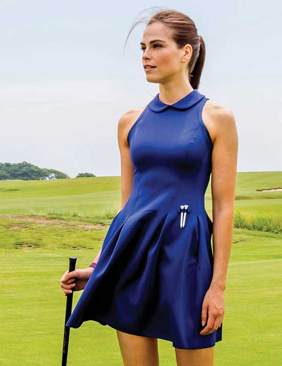 Cute Summer Golf Outfits for Ladies-6