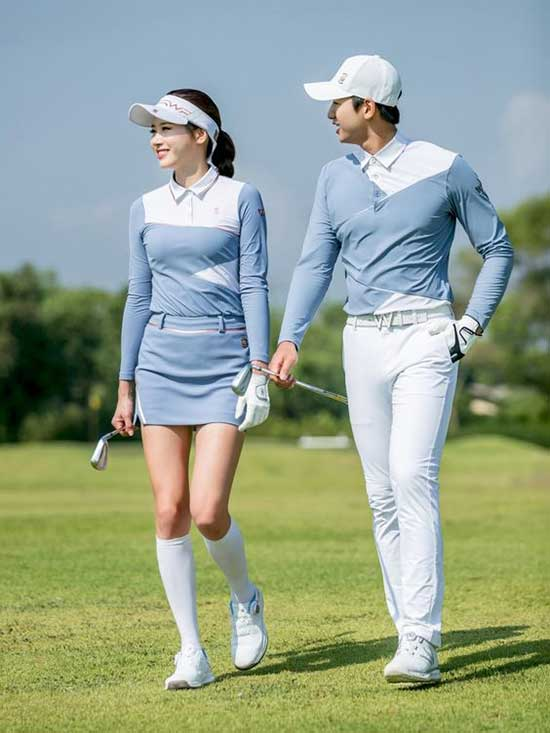Cute Matching Golf Outfits for Ladies-7