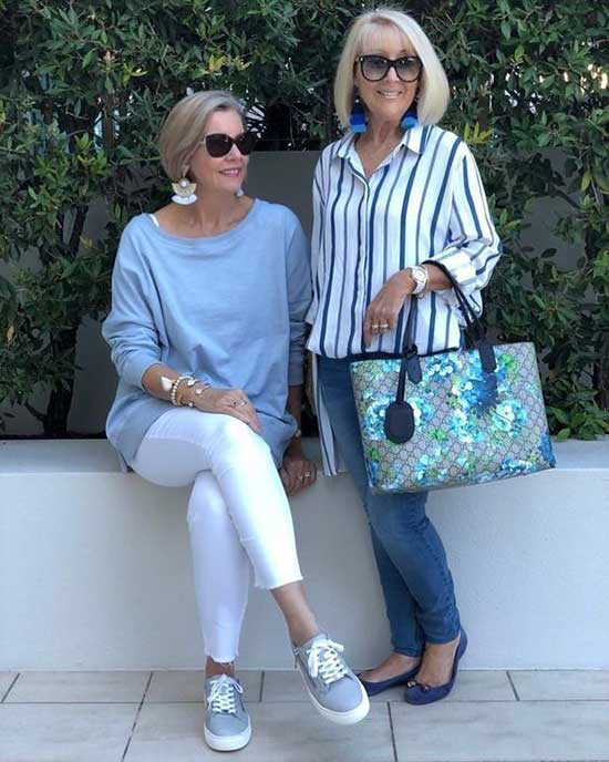 Stylish Summer Outfits for Women Over 50-7
