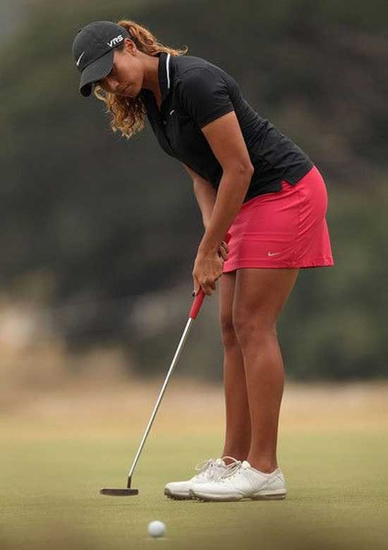 Cute Golf Skirt Outfits for Ladies-8