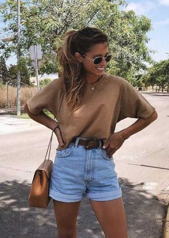 Summer Denim Outfits for School-8
