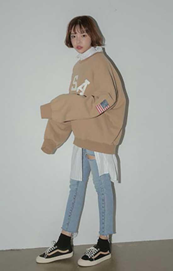 Korean Grunge Outfit Ideas-9