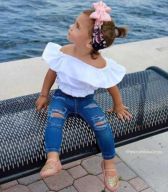 Stylish Cute Little Girl Summer Outfits-9