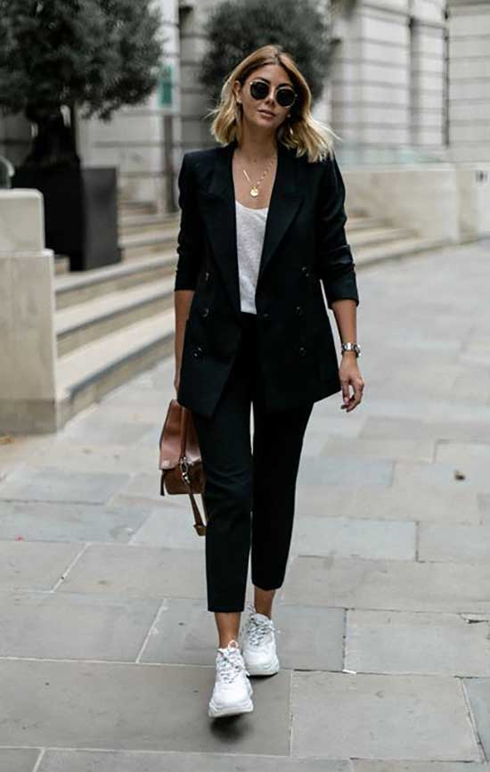 Casual Black Blazer Outfits