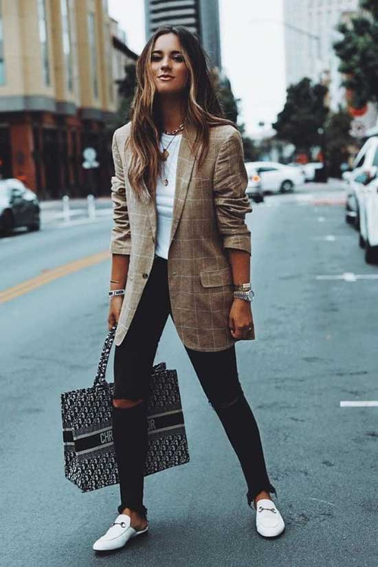 Casual Blazer Fall Outfits