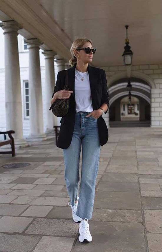 Casual Blazer Jeans Outfits