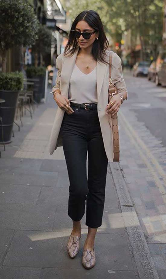 Casual Blazer Outfits Women
