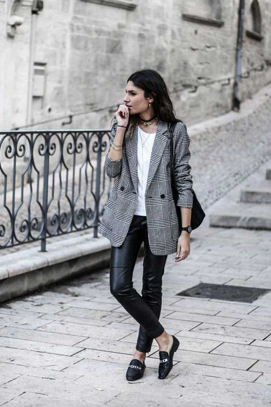 Casual Blazer Vintage Outfits