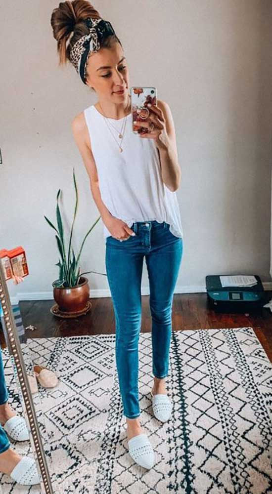 Casual Outfits with Skinny Jeans
