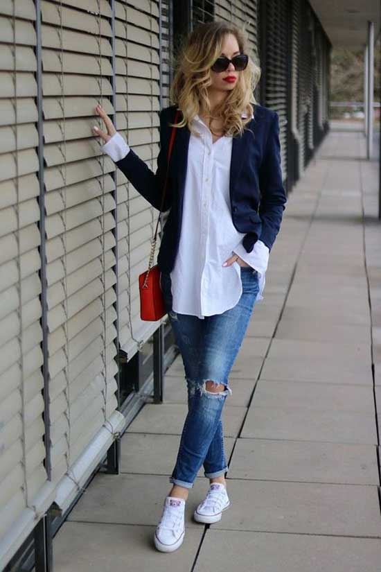Casual Wool Blazer Outfits